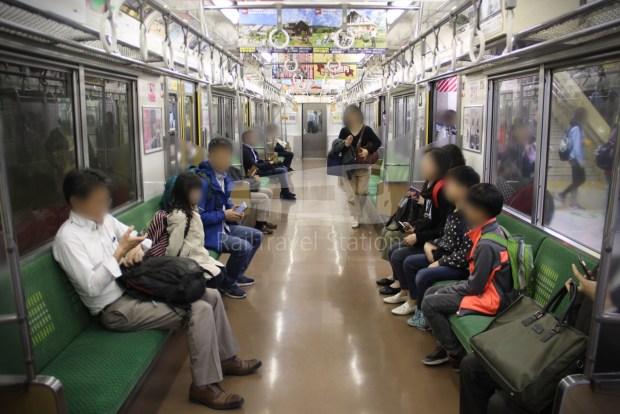 Musashino Line 205 Nishi-Funabashi Tokyo 023