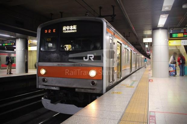 Musashino Line 205 Nishi-Funabashi Tokyo 029