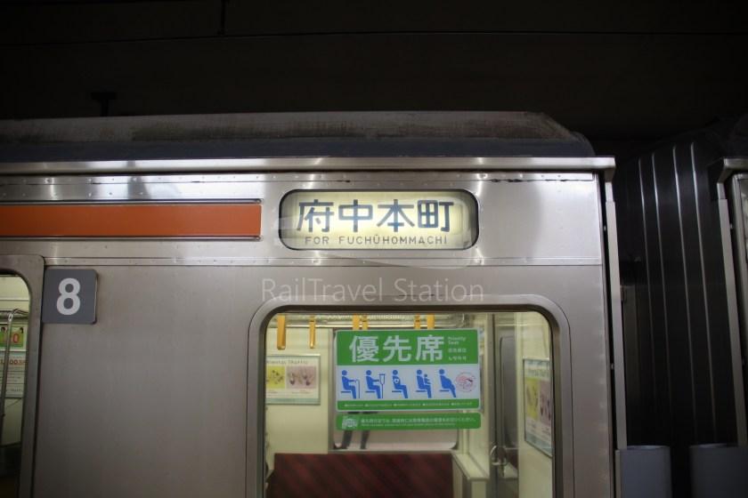 Musashino Line 205 Nishi-Funabashi Tokyo 034