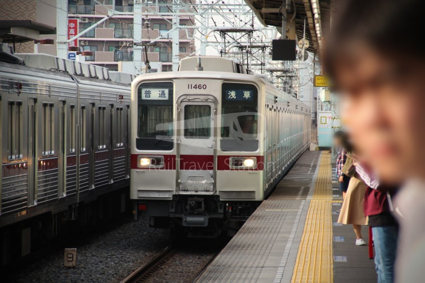 Tobu Skytree Line Local Higashi-Mukojima Asakusa 013