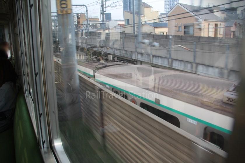 Tobu Skytree Line Local Higashi-Mukojima Asakusa 018