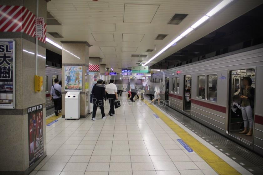 Tobu Skytree Line Local Higashi-Mukojima Asakusa 024