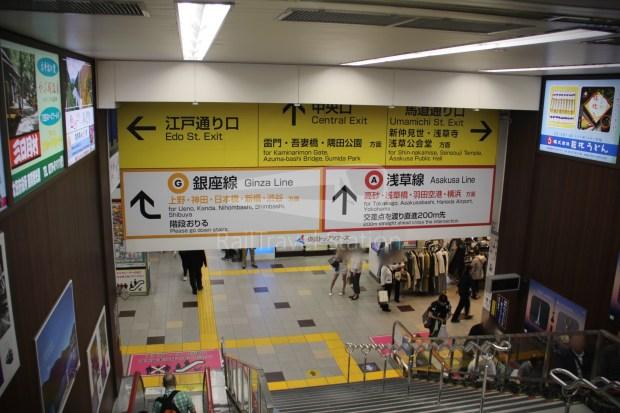 Tobu Skytree Line Local Higashi-Mukojima Asakusa 026