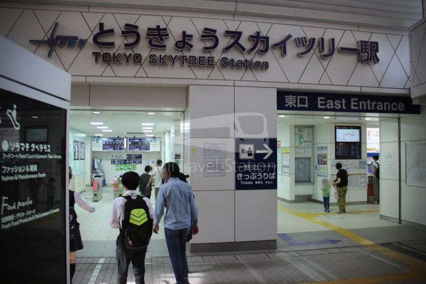 Tobu Skytree Line Local Tokyo Skytree Higashi-Mukojima 002
