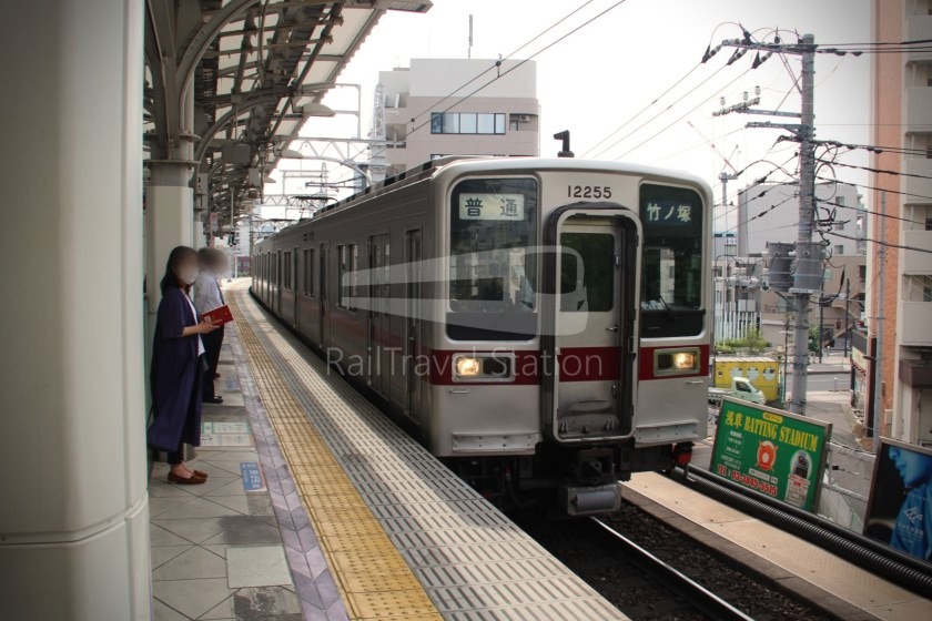 Tobu Skytree Line Local Tokyo Skytree Higashi-Mukojima 013