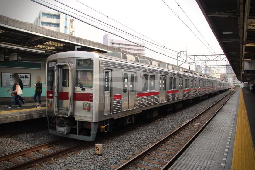 Tobu Skytree Line Local Tokyo Skytree Higashi-Mukojima 027