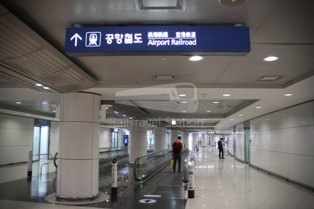 AREX Express Train Incheon International Airport Terminal 1 Seoul Station 005