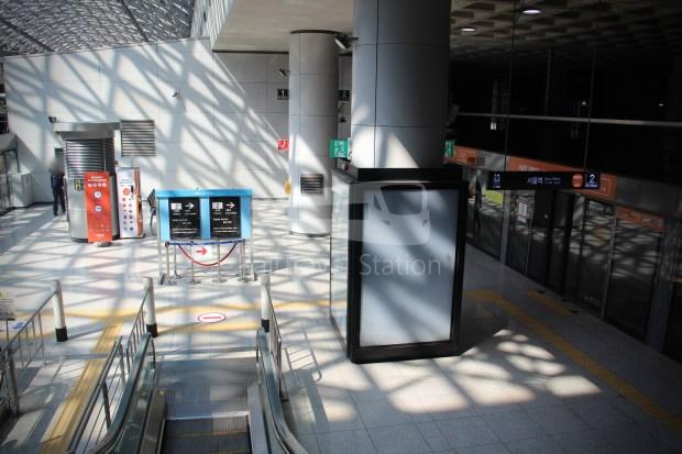 AREX Express Train Incheon International Airport Terminal 1 Seoul Station 020