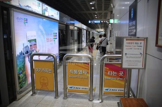 AREX Express Train Incheon International Airport Terminal 1 Seoul Station 033