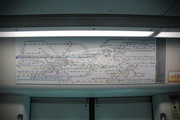 AREX Express Train Incheon International Airport Terminal 1 Seoul Station 054