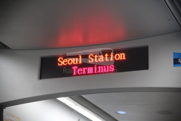 AREX Express Train Incheon International Airport Terminal 1 Seoul Station 077