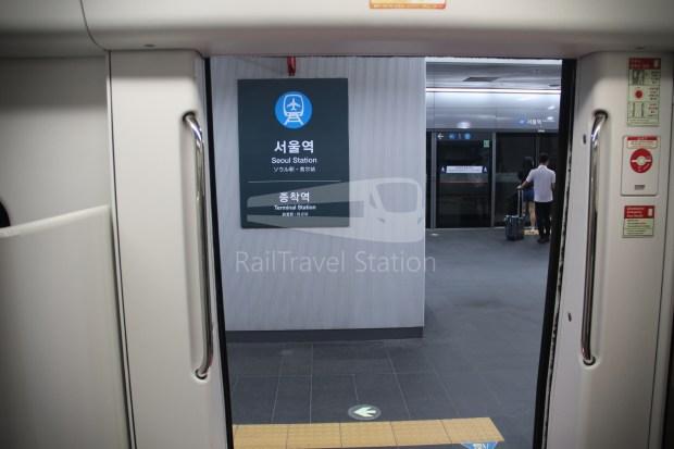 AREX Express Train Incheon International Airport Terminal 1 Seoul Station 080