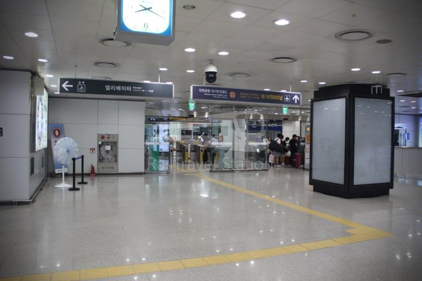 AREX Express Train Seoul Station Incheon International Airport Terminal 1 051