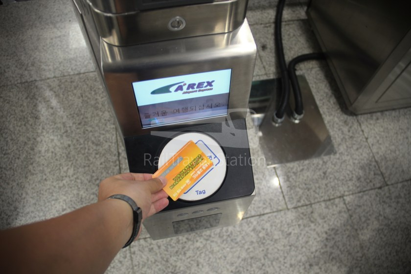 AREX Express Train Seoul Station Incheon International Airport Terminal 1 054