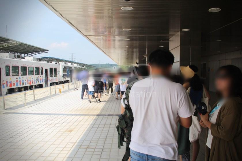 DMZ Train 4887 Seoul Dorasan 138