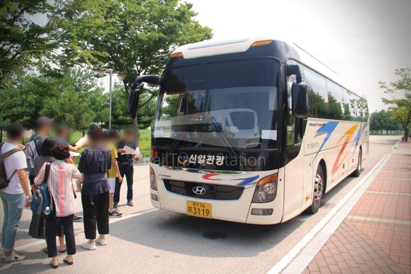 DMZ Train Bus Tour 002