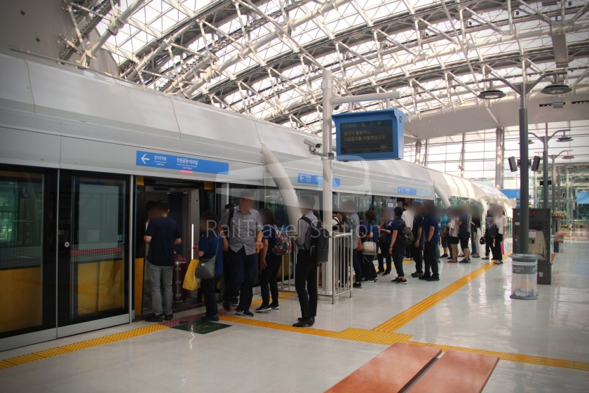 Incheon Airport Maglev Incheon International Airport Terminal 1 Yongyu 005