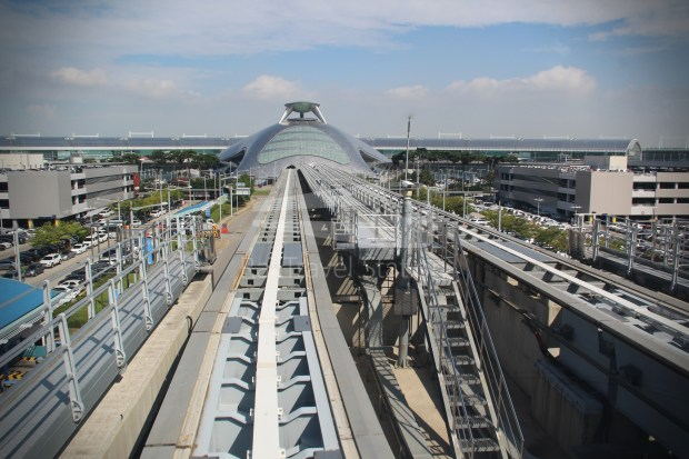 Incheon Airport Maglev Yongyu Incheon International Airport Terminal 1 030
