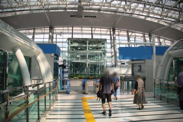 Incheon Airport Maglev Yongyu Incheon International Airport Terminal 1 038