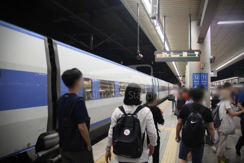 KTX 158 Busan Seoul 067