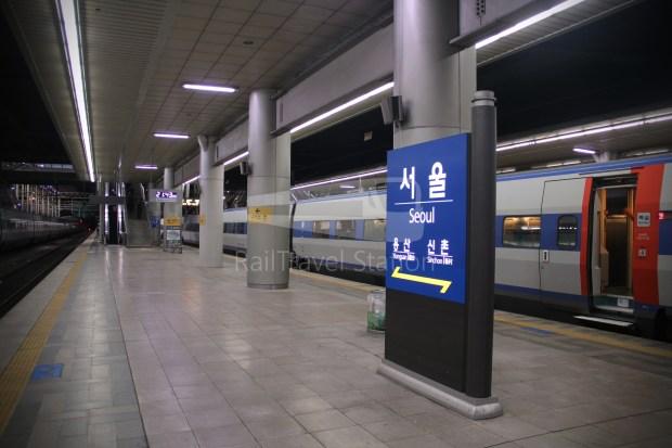 KTX 158 Busan Seoul 070