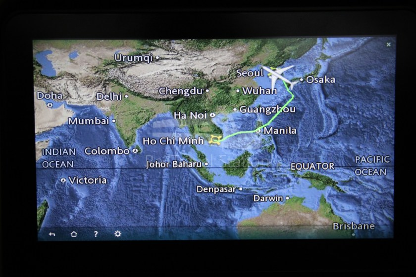Vietnam Airlines VN408 SGN ICN 079