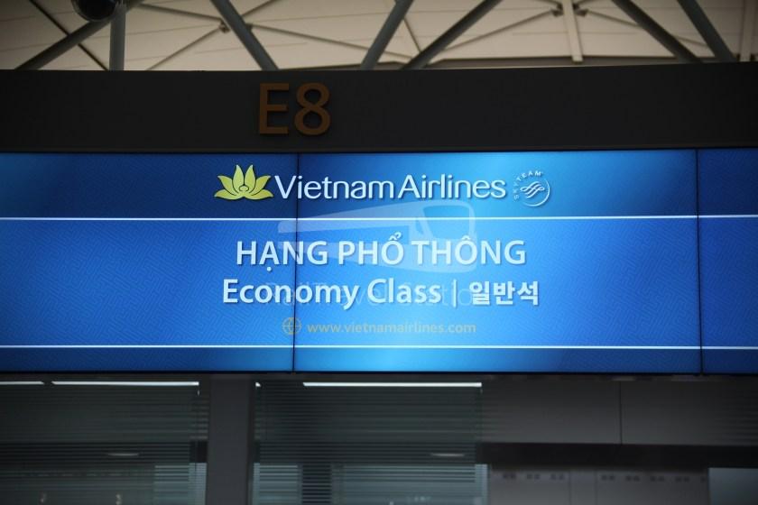 Vietnam Airlines VN409 ICN SGN 002