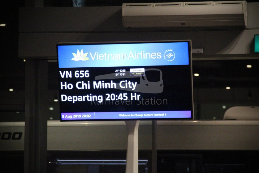 Vietnam Airlines VN656 SIN SGN for ICN 033