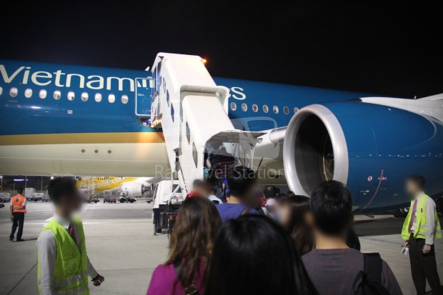 Vietnam Airlines VN656 SIN SGN for ICN 058