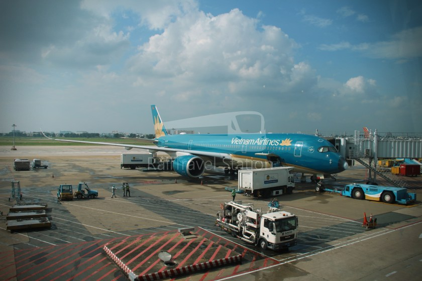 Vietnam Airlines VN657 SGN SIN from ICN 009