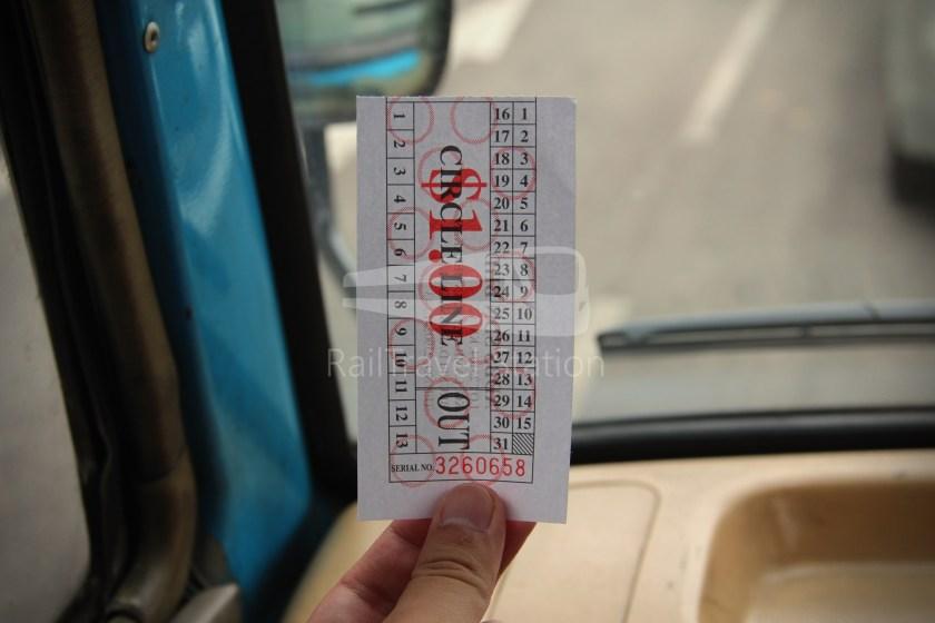 Brunei-Muara Service 01C BSB Bus Terminal Clockwise 008