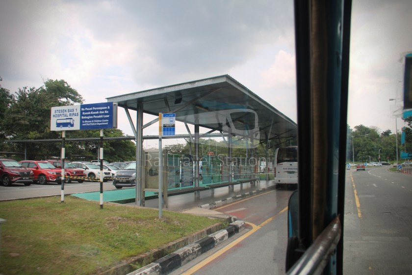 Brunei-Muara Service 01C BSB Bus Terminal Clockwise 025