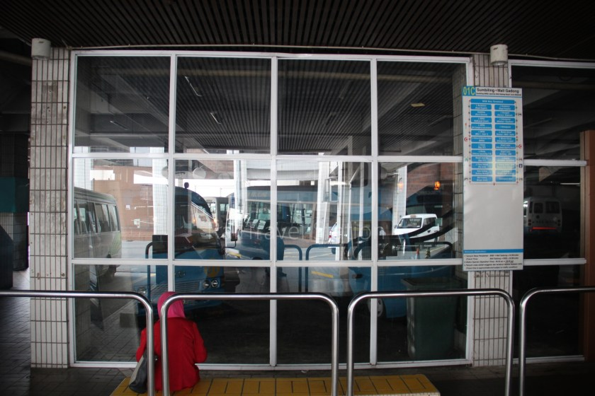 Brunei-Muara Service 01C BSB Bus Terminal Clockwise 074