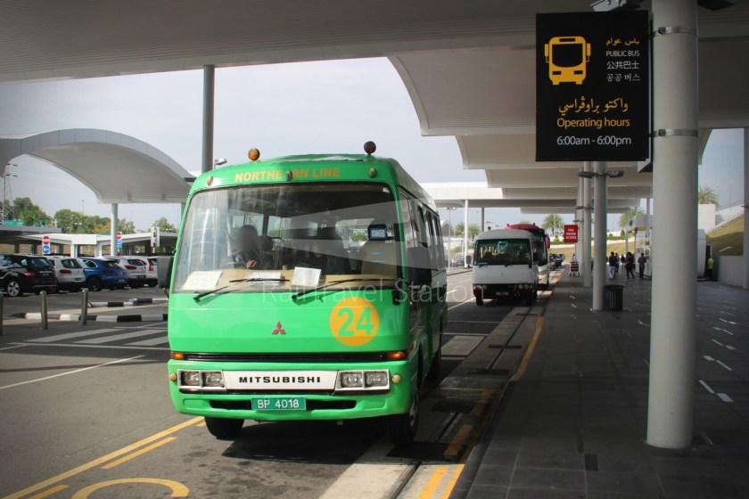 Brunei-Muara Service 24 Brunei International Airport BSB Bus Terminal 010