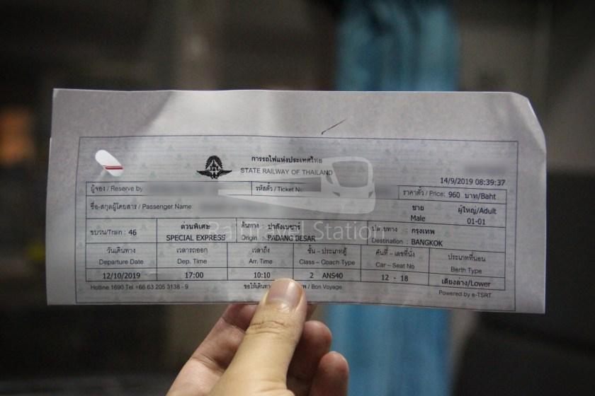 Special Express 46 Padang Besar Bangkok Hua Lamphong 064