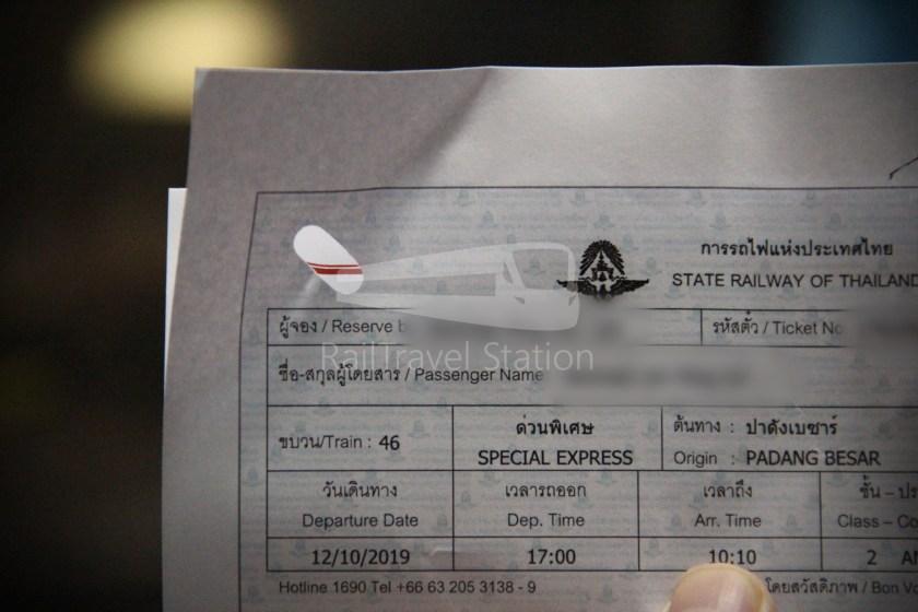 Special Express 46 Padang Besar Bangkok Hua Lamphong 065