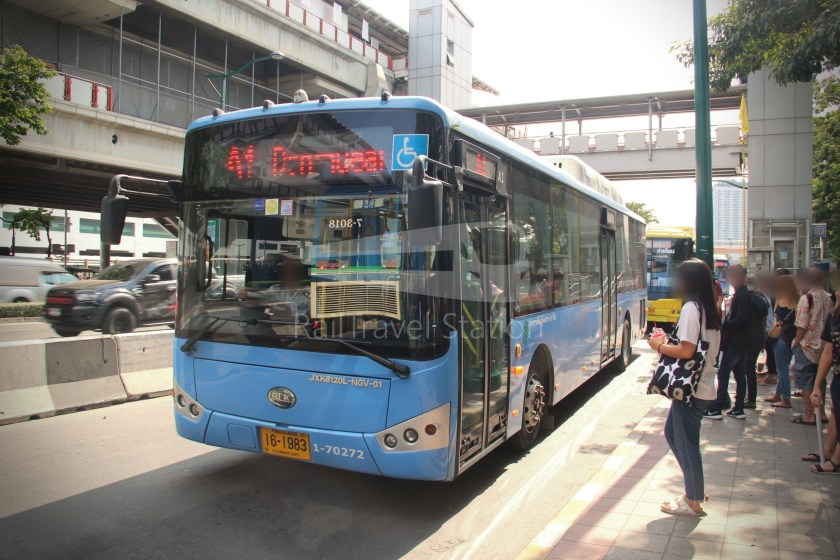 Don Mueang Airport Bus A1 Mo Chit BTS DMK 014