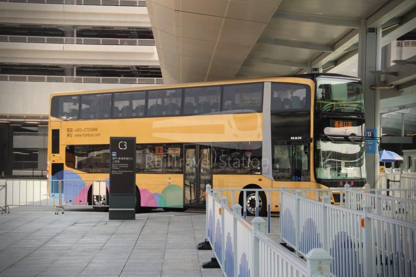 HZM Bus HZMB Macau Port HZMB Hong Kong Port 014