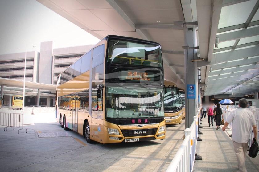 HZM Bus HZMB Macau Port HZMB Hong Kong Port 016