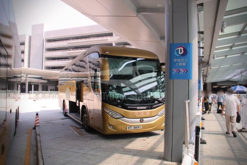 HZM Bus HZMB Macau Port HZMB Hong Kong Port 017