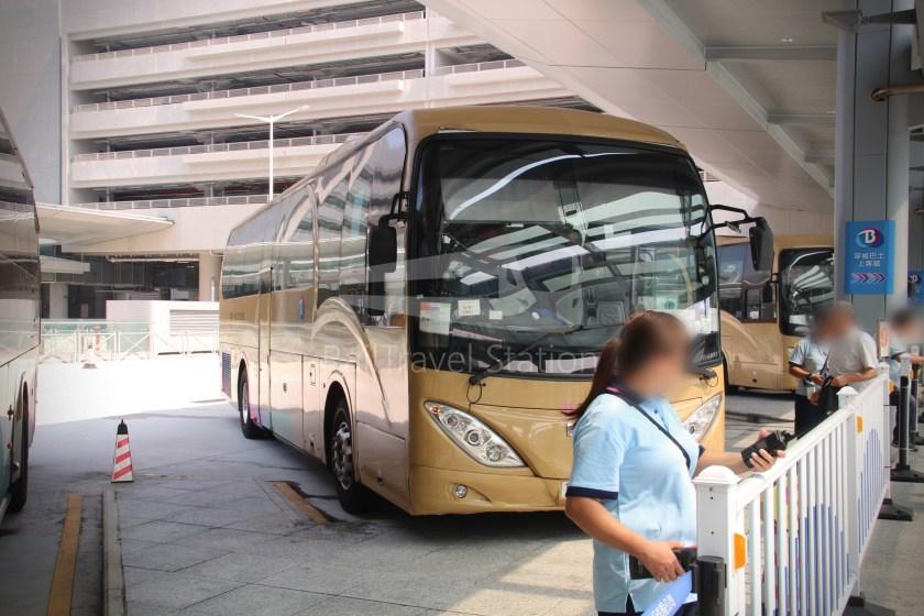 HZM Bus HZMB Macau Port HZMB Hong Kong Port 018