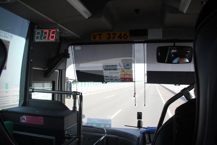 HZM Bus HZMB Macau Port HZMB Hong Kong Port 031