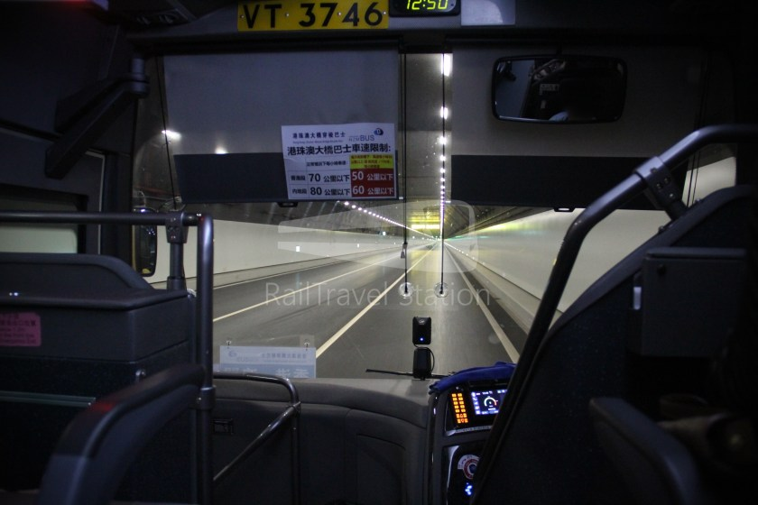 HZM Bus HZMB Macau Port HZMB Hong Kong Port 045