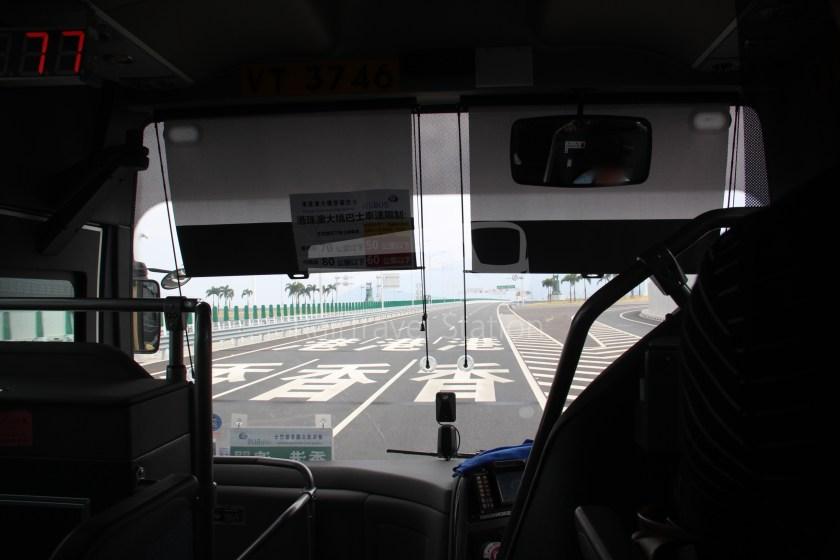 HZM Bus HZMB Macau Port HZMB Hong Kong Port 047
