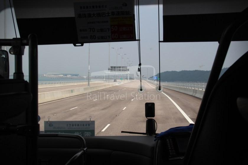HZM Bus HZMB Macau Port HZMB Hong Kong Port 053
