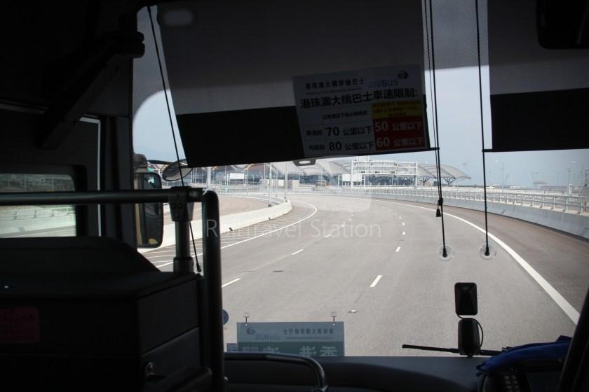 HZM Bus HZMB Macau Port HZMB Hong Kong Port 061