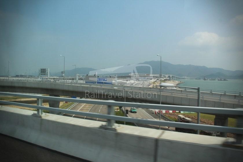 HZM Bus HZMB Macau Port HZMB Hong Kong Port 062