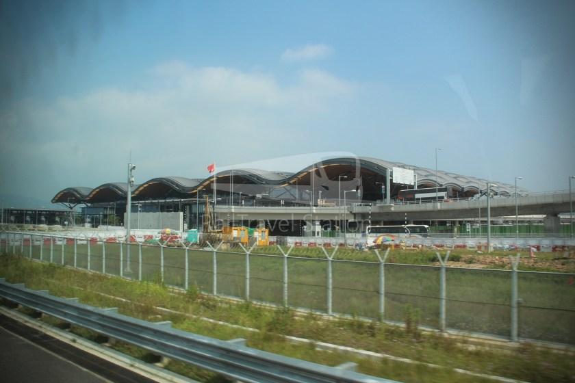 HZM Bus HZMB Macau Port HZMB Hong Kong Port 063