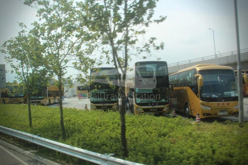 HZM Bus HZMB Macau Port HZMB Hong Kong Port 067