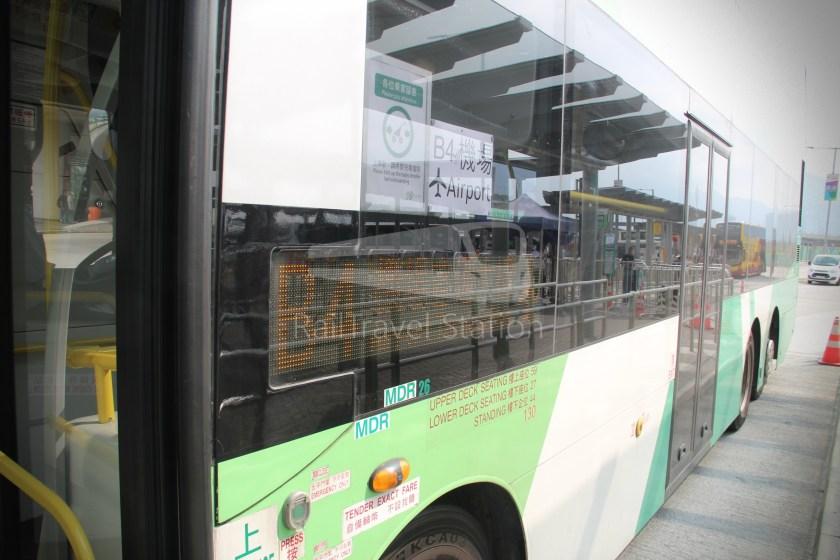 New Lantao Bus B4 HZMB Hong Kong Port Airport 014